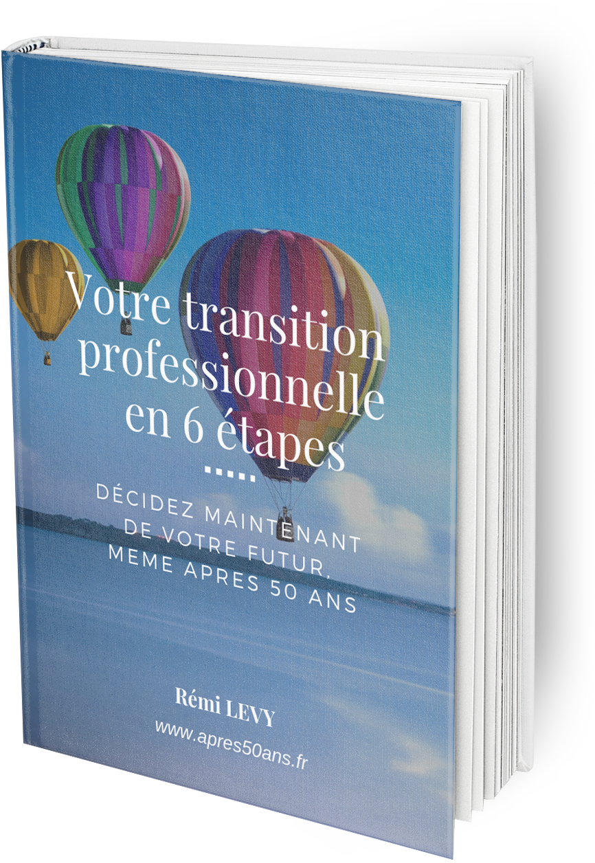 transition professionnelle en 6 étapes